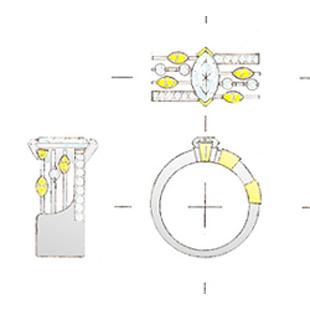 みつこジュエリーアートのデザインのイメージ