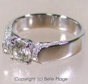プラチナ900 ダイヤモンド エンゲージリング(婚約指輪)