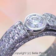 ダイヤモンド エンゲージリング(婚約指輪):E-006