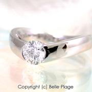 ダイヤモンド エンゲージリング(婚約指輪):E-007