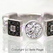 ダイヤモンド エンゲージリング(婚約指輪):E-008