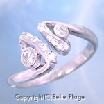 ダイヤモンド エンゲージリング(婚約指輪):E-012
